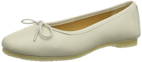 Clarks Lia Grace Ballerine Donna, Beige (Cream Leather), 41