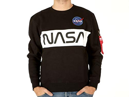 Alpha Industries Nasa Inlay Sweater black