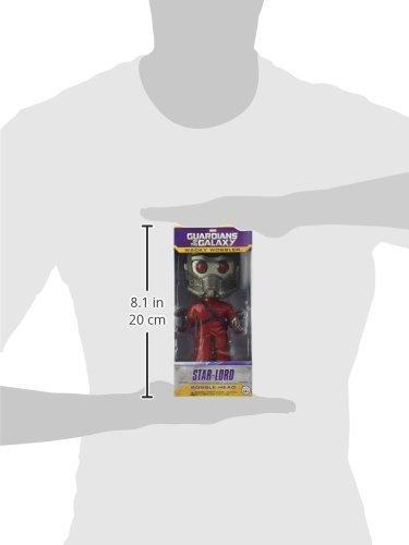 "Funko FUN3961 Wacky Wobbler"" Guardians of The Galaxy Star Lord Bobble Head Figure 4"