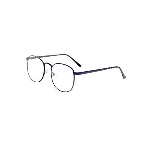 Sakuldes Unisex Stilvolle Mode Brillengestell Klare Linse Gläser Nicht Verschreibungspflichtige Brillen (Color : Black)