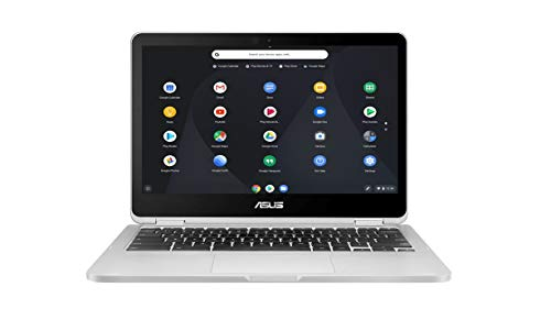 "Asus Chromebook C301SA-FC036 PC Portable 13.3"" Full HD Gris (Intel Celeron, 4 Go de RAM, eMMC 128 Go, Chrome OS) Clavier AZERTY Français"