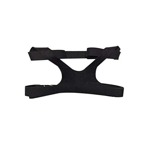 Universal Design Headgear Comfort Gel Vollmaske Sichere Umwelt Ersatz CPAP Kopfband Ohne Maske Für PHILPS (schwarz) (fghfhfgjdfj) -