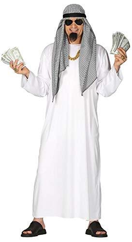 Kostüm Fürsten - shoperama Arabischer Öl-Scheich Gr. L Herren-Kostüm Araber Orient Sultan Scheich Wüsten-Prinz Morgenland