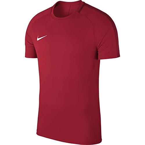 new arrival e43f4 0fecb Nike Dry Academy 18 Football Top, Camiseta Hombre, Rojo (University Red Gym
