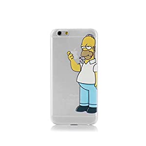 coque etui housse pour iphone 6 homer manger pomme screen film high tech. Black Bedroom Furniture Sets. Home Design Ideas