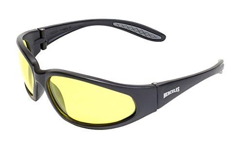 Unzerbrechlich schwachem licht / nacht motorradbrille / biker rundum sonnenbrillen und free mikrofaser-beutel