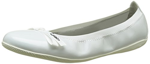 Les P'tites Bombes 3-Ella V16, Ballerines Bout Fermé Femme Blanc (Blanc)
