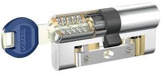 Kaba experT LAM - Cilindro alta seguridad Latonado 35X35
