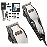 Brand New Wahl 79524-800 Chrome Pro Full Complete Home Hair Cutting Clipper Trimmer Set