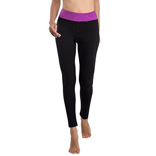 DISBEST Women Sports Legging with Pocket Tummy Control Workout Running High Waist Yoga Pants