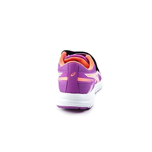 Asics Kinder-Unisex Gel-Zaraca 5 Ps Gymnastik Lila/Orange