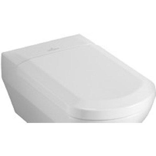 Preisvergleich Produktbild Villeroy & Boch 98M8S101 WC-Sitz Sentique mit softclosing Scharnieren, weiß