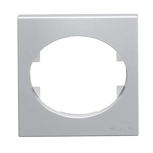 Niessen tacto - Tapa interruptor temperatura tacto plata
