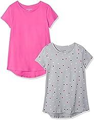 Amazon Essentials 2-Pack Tunic Top Niñas, Pack de 2