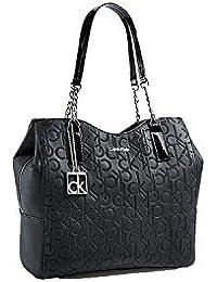 Calvin Klein Sadie Center Zip Hobo Bag Handbag