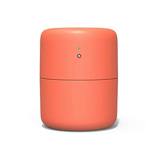 Duftöldiffusoren 420 Ml Haushalt Usb Desktop Luftbefeuchter Stille Luftreiniger Ätherisches Öl Diffusor Lagerkapazität Feinnebelhersteller Touch Schalter, Mango Orange -