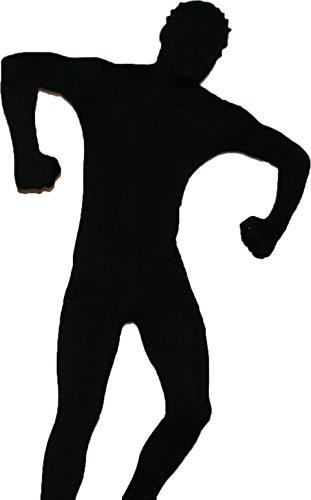 Catsuit Ganzkörperkostüm in Schwarz Größe: XL