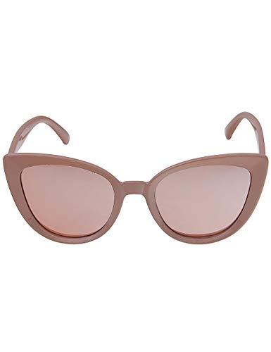 Leslii Sonnenbrille Cateye Katzenaugen Damen Frauen Designerbrille Retro altrosa rosa nude pastell