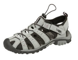 PDQ SASHA Ladies Toggle & Velcro Summer Trail Sandals Red