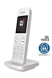 Telekom Speedphone 12 Festnetztelefon (Schnurlos - zur Nutzung an aktuellen Routern mit DECT-CAT-iq Schnittstelle (z.B. Speedport, Fritzbox), 5 cm Farbdisplay) weiß