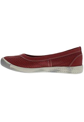 SoftinosIol389sof - Scarpe con Tacco donna Red