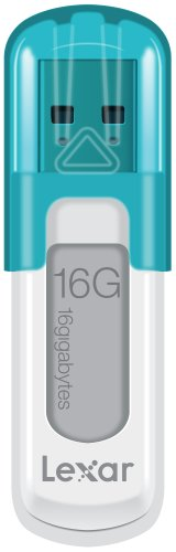 Lexar JumpDrive V10 USB 2.0 16GB Pen Drive (White & Blue)