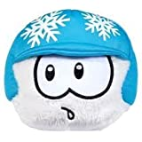 Disney Club Penguin 4 Inch Exclusive Plush Puffle White with Snowflake Helmet Includes Coin with Code! by Club Penguin