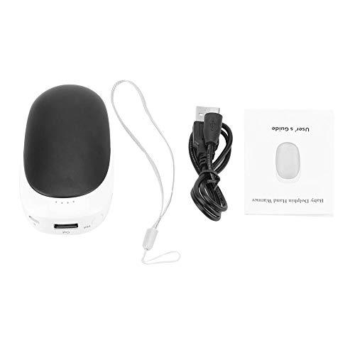 FTVOGUE Réchauffeur Rechargeable USB et Banque d'alimentation 2 en 1 Mini-Chargeur de Voyage Multifonction 4000mAh