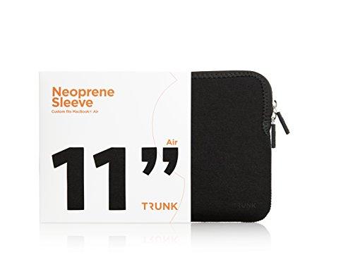 TRUNK TR-AMA11-BLK Hülle für MacBook 11 Zoll Air schwarz