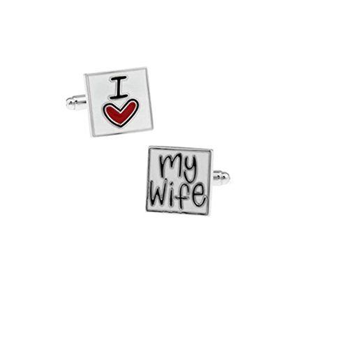 ELECTROPRIME Mens Fashion Jewelry Valentine Gift Multicolor Square Bridegroom Cufflinks