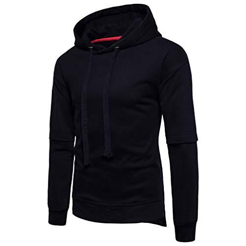 Magiyard T-Shirt Pulls à Capuche à Manches Longues pour Femmes Tops Four Seasons Couleur Unie Irrégulière de Couleur Unie 2019