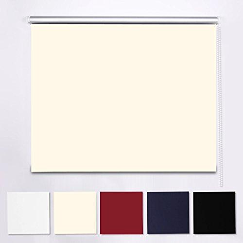 shiny-homer-adjustable-blackout-roller-blind-beige-with-size-120-x-230cm