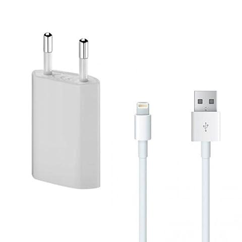 Lapinette Chargeur Secteur + Câble USB pour iPhone 6 Plus/6S Plus