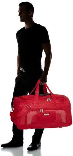 Travelite Orlando Reisetasche, Schwarz, 58x30x32 cm, 50 liters, 98486 Rot