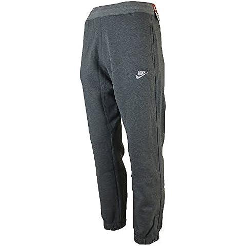 Nike–Pantaloni da jogging da uomo in pile tuta uomo Slim