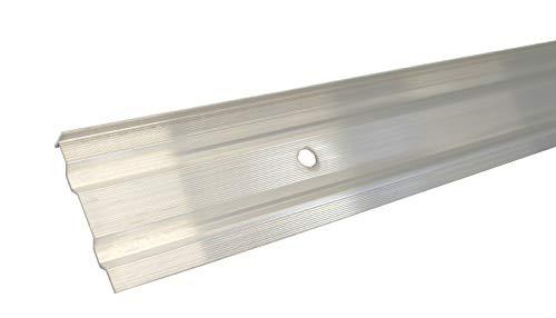 Aluminum Wandanschlussprofil Kappleiste Alu Dach Abschluss Blech Schiene 1500 mm
