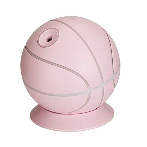 Luftbefeuchter Home Diffuser Home Aroma Table Basketball Humidifier Air Diffuser Essential Purifiers USB Humidifier Design Oil Hot,Pink Hot Pink Design