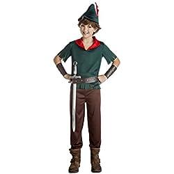Disfraz de Robin Hood verde oscuro para niño