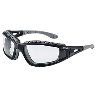 Bolle TRACPSI Tracker – Gafas de Seguridad y Correa de Seguridad – ventilado Transparente