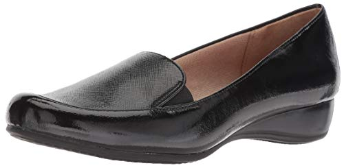LifeStride Women's Dara Low Heel Slip on Loafer Flat Flats Loafers Slip