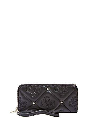 Guess Wallet Quilted Women's 10Cm Black