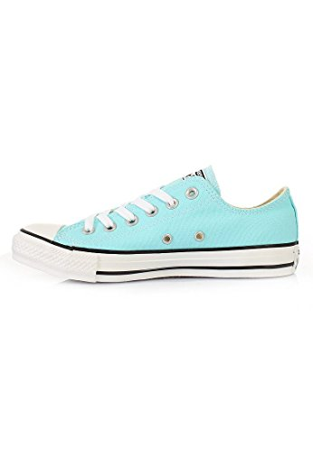 Converse, All Star Ox Canvas Seasonal, Sneaker, Unisex - adulto hellblau / weiß
