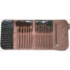 Beautik Pro, Set de brochas para maquillaje (Cocodrilo) - 1 unidad