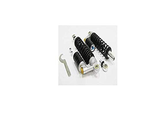 Madmunk-Amortiguador de gas de 330 mm de color negro, 2 unidades