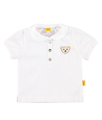 Steiff Collection Mädchen, Poloshirt, Poloshirt 1/8 Arm, Rosa (barely Pink 2560), 56