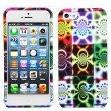 MYBAT Schutzhülle für iPhone 5, schlankes Design, 1 Stück, Camo Glow -