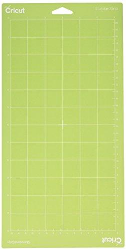 Unbekannt Tapis de découpe Cricut Grip Standard, adhésif, vert, 6x 12cm, Lot de 2 -