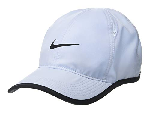 Nike U NK AROBILL FTHRLT Hat, Half Blue/Black, One Size - Nike Mesh Hat