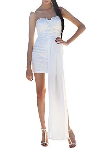E-Girl femme Blanc SY21688-1 Robe millésime Blanc