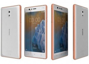 NOKIA 3 (Copper White)